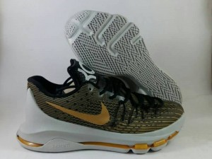 Sepatu Basket KD 8 Black Gold Sabertooth