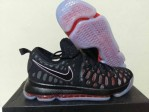 Sepatu Basket KD 9 Black Red
