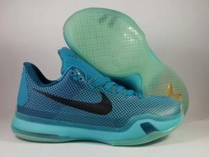 Sepatu Basket Kobe 10 Blue Lagon