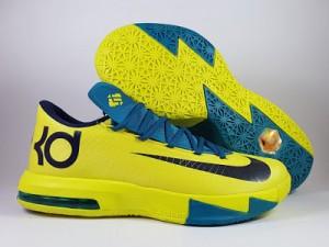 Sepatu Basket KD 6 Yellow Green