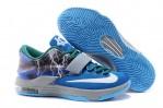 Sepatu Basket KD 7 Thunder Blue