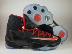 Sepatu Basket Lebron 13 Elite Black Red