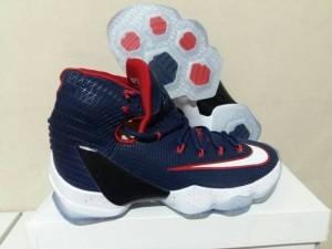 Sepatu Basket Lebron 13 Elite Navy Blue