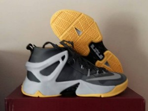 Sepatu Basket Lebron Ambassador Grey Yellow
