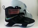 Sepatu Basket Lebron Soldier 10 Black White