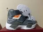 Sepatu Basket Lebron Soldier 10 Grey White
