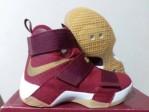 Sepatu Basket Lebron Soldier 10 Red White