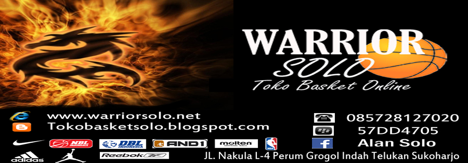 SEPATU BASKET – WARRIOR SOLO