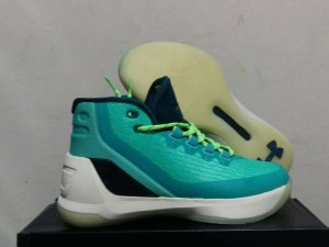 Curry 3 Teal