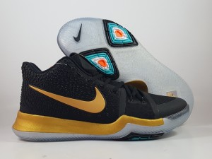 Kyrie 3 Black Gold
