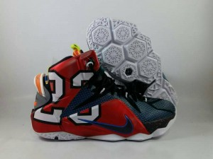 Sepatu Basket Lebron 12 What The