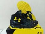 Sepatu Basket Curry 2 Black Knight