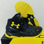 Sepatu Basket Curry 2 Black Knight