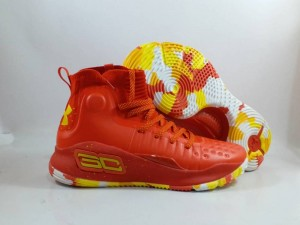 Sepatu Basket Curry 4 Red Yellow