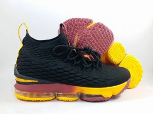 Lebron 15 Black Yellow