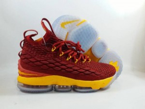 Lebron 15 Red Yellow