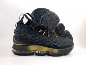 Lebron 15 Black Gold