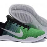 Kobe 11 Flyknit Black Green