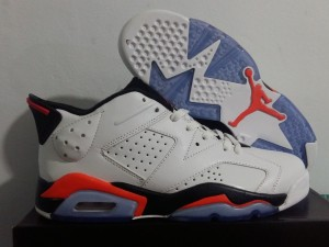 Jordan 6 Low White Infrared