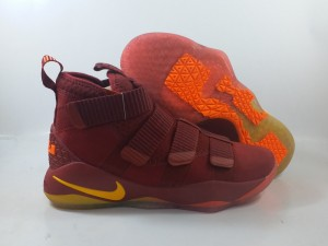 Lebron Soldier 11 Red Wine