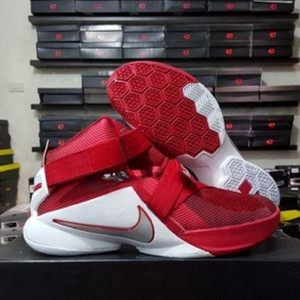 Lebron Soldier 9 Red White