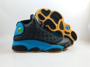 Jordan 13 CP3 Black Blue
