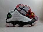 Jordan 13 Infrared 23 White Black