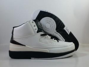 Jordan 2 White Black