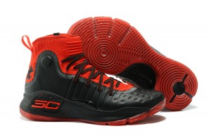 Curry 4 Red Black