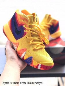 Kyrie 4 Uncle Drew Colorway