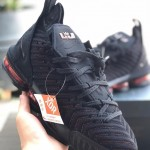 Lebron 16 Low Black Red