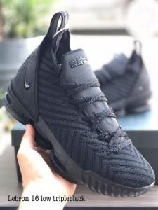 Lebron 16 Low Full Black