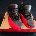 Jordan 12 High Black Red