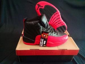 Jordan-12-High-Black-Red-2-300x225 Jordan 12 High Black Red