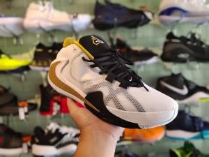Nike Zoom Freak White Black Gold
