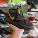 Sepatu Basket Kyrie 6 Black Metalic Gold