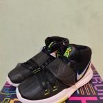 Sepatu Basket Kyrie 6 Black White Original