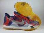 Sepatu Basket Kobe 10 Independence Day Usa