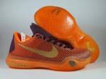 Sepatu Basket Kobe 10 Silk Orange