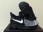 Sepatu Basket KD 9 Black White