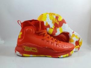 Sepatu Basket Curry 4 Red Yellow